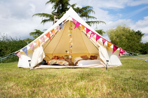 lot 30 tent picture