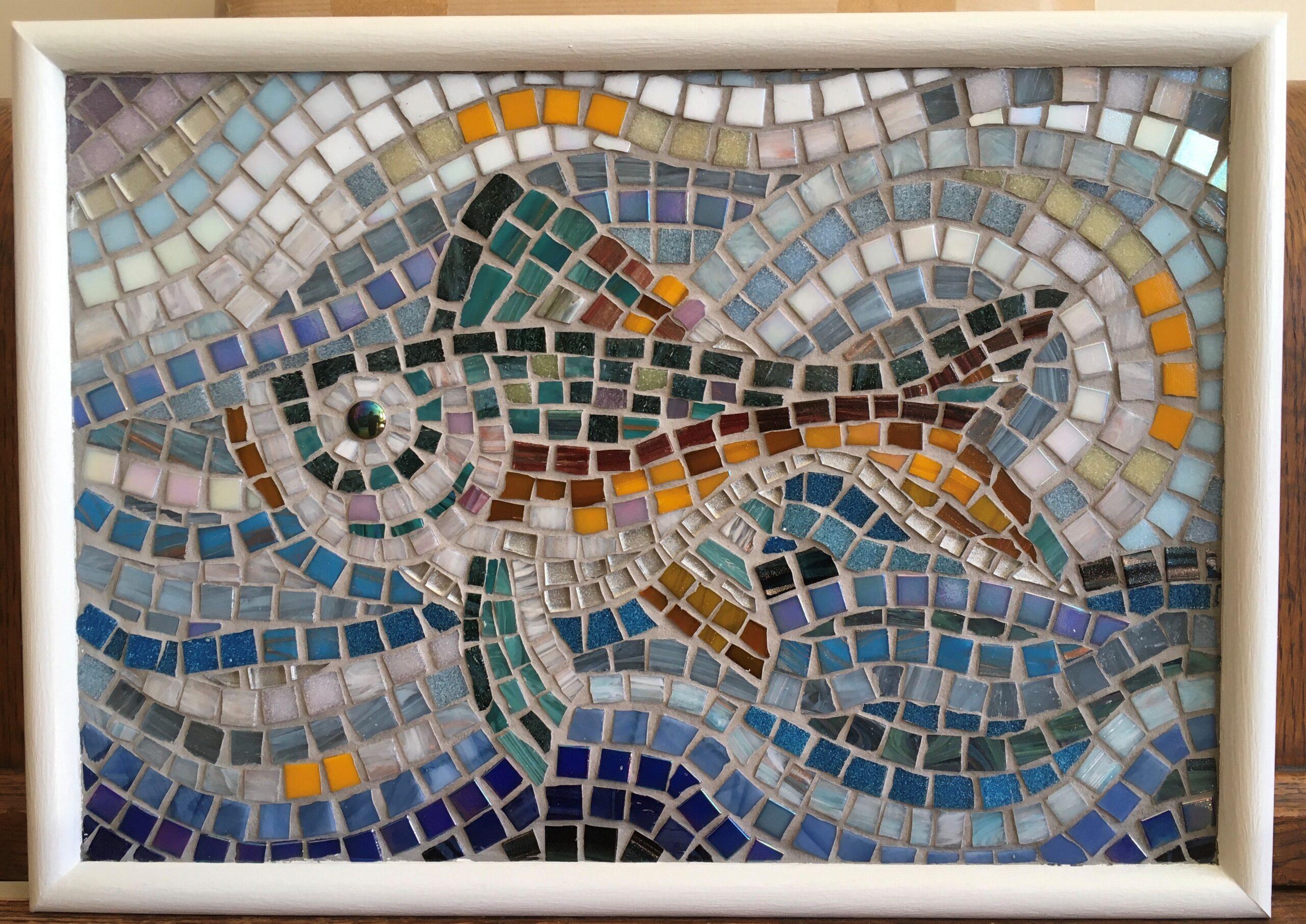 fish mosaic image