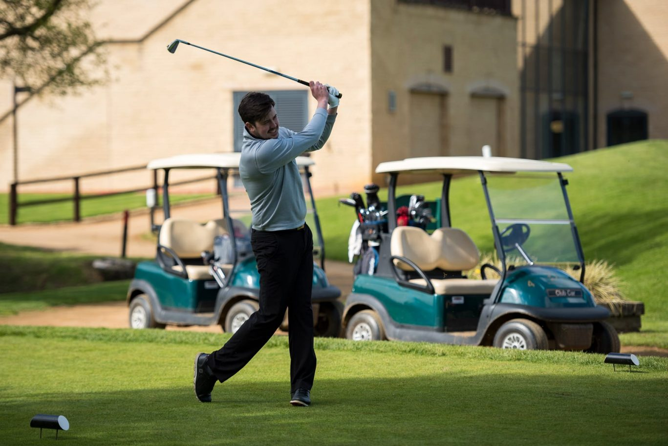 Bicester GHS golf pro picture