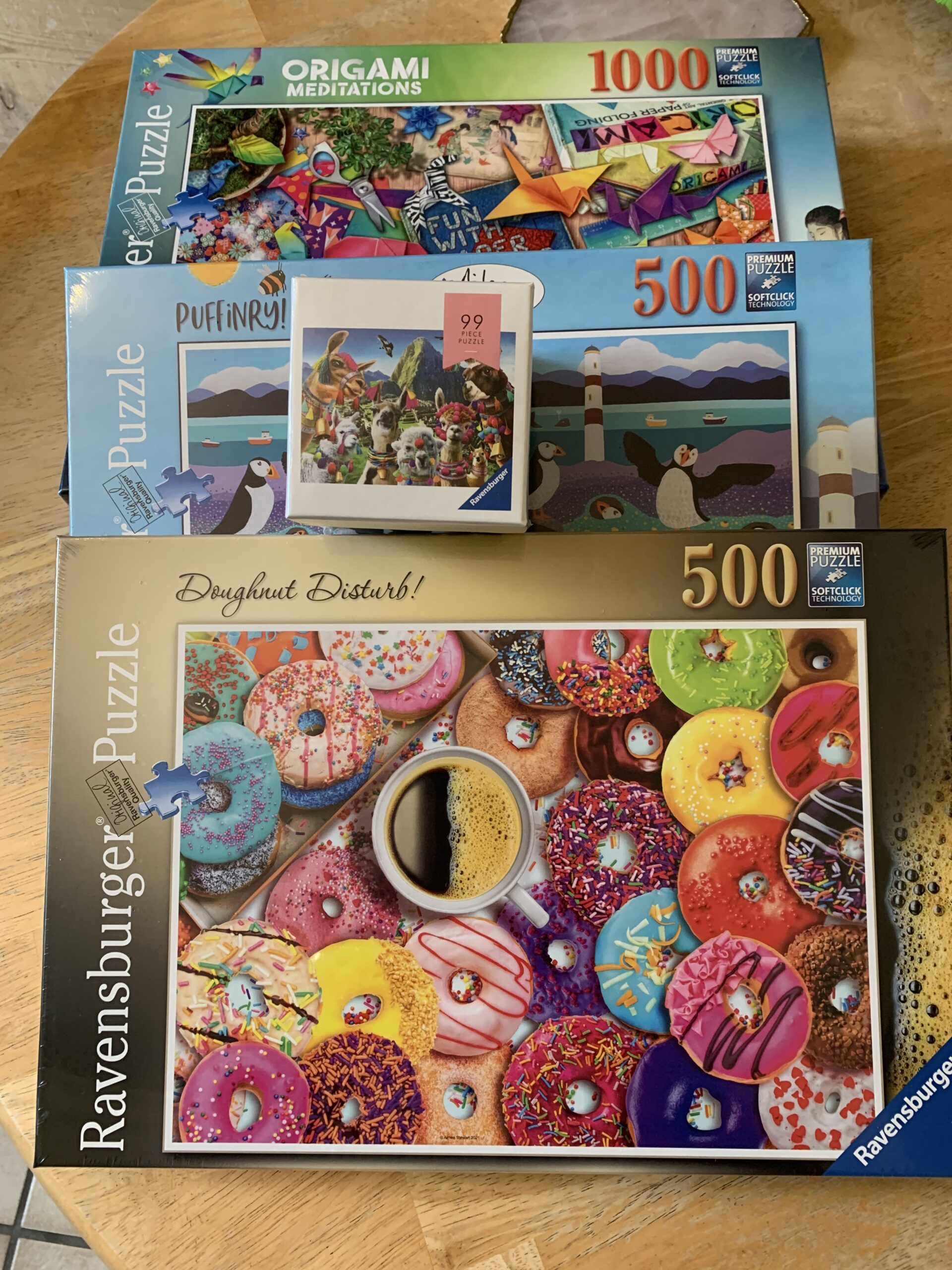 Picture of jigsaw puzzles